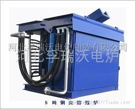 5吨钢壳熔炼炉 1
