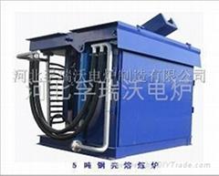 5吨钢壳熔炼炉