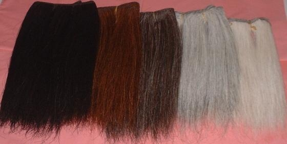 horse hair wefts 2