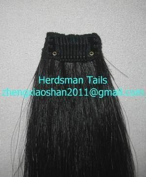 Horse forelock extensions 1