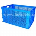 Turnover container mould