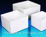 square quartz ceramics crucible