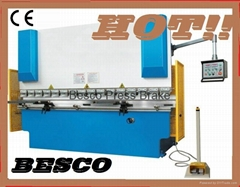 hydraulic press brake bending machine, sheet metal bending machine, press break