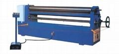 WR4*2000 Asymmetrical 3 roller plate bending machine