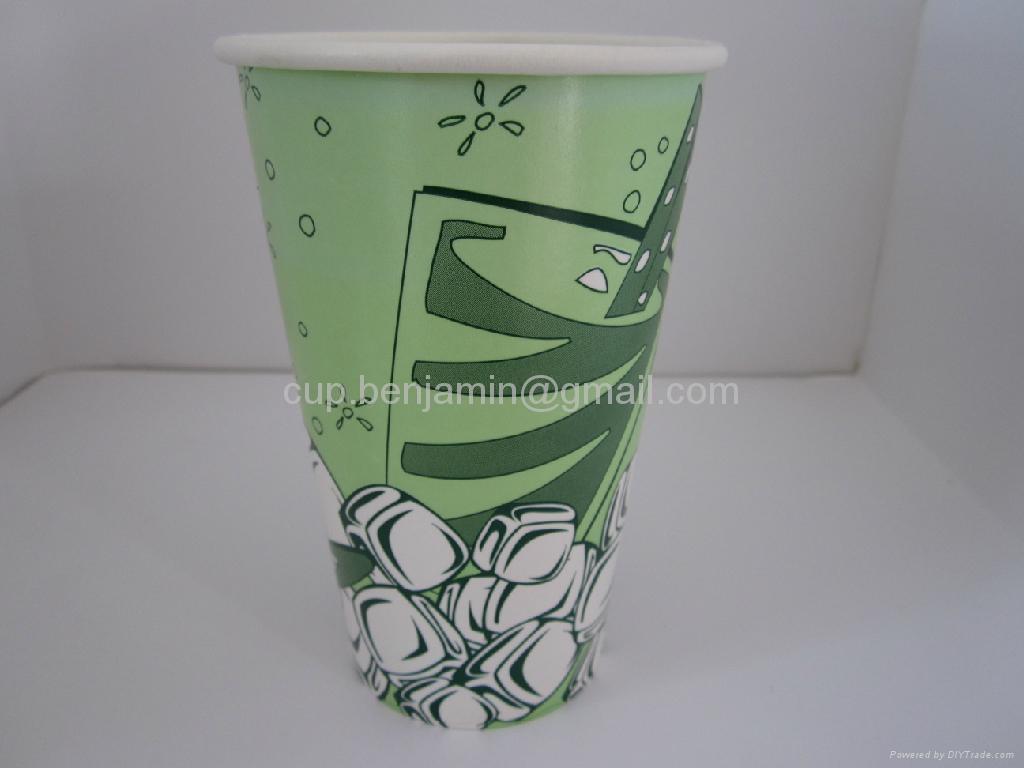 12oz cold beverage paper  cups 1