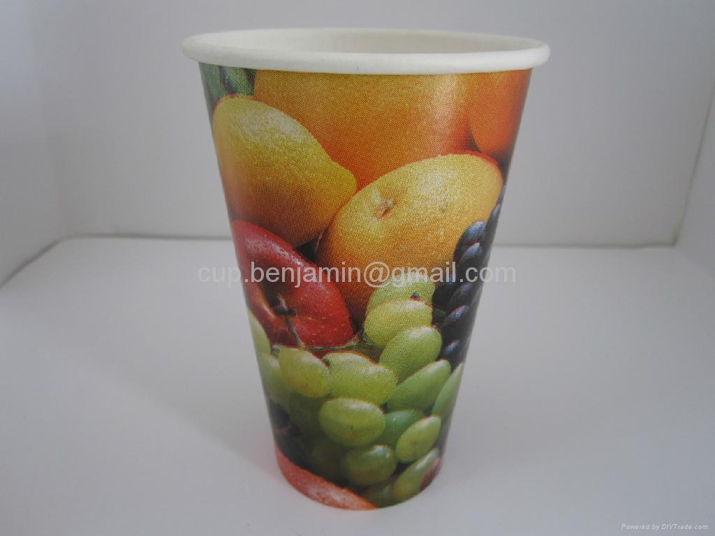12oz cold beverage paper  cups 2