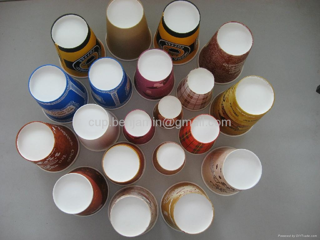 Different sizes coffee paper  cups 2
