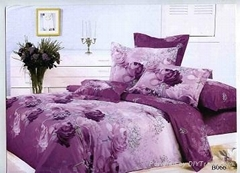 printing cotton bedding set