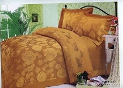 jacquard cotton bedding set
