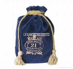 鄭州供應絨布酒袋