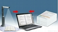 High-speed portable document scanner camera& visual presenter  2