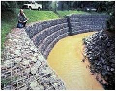 河渠衬砌石笼网