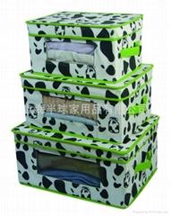 三件套无纺布储物盒