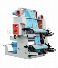 2 Colors Plastic Bag Flexo Printing Machine