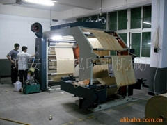 Roll Paper Flexographic Printing Machine(CH882-1200)