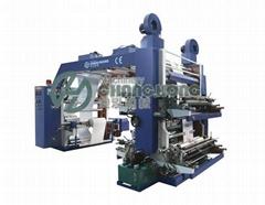 4 Colors Plastic Film Flexo Printing Machine