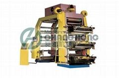 6 Colors Plastic Flexo printing machine