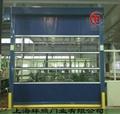 崑山PVC工業快速昇降提升門  3