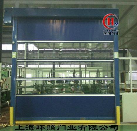崑山PVC工業快速昇降提升門  4