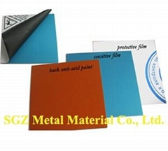 Coated Etching Zinc Plate
