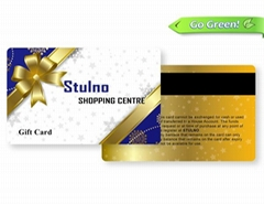 Bright magnetic stripe cards