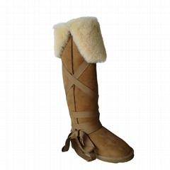 過膝雪地靴5858