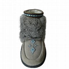 皮毛一體雪地靴