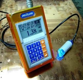美国milum mm615手持式PCB表面镀铜测厚仪 1