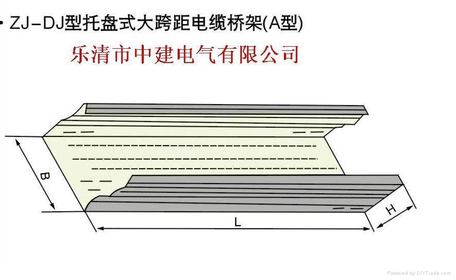 大跨距電纜橋架 3