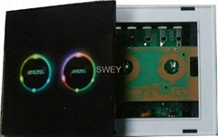 Touch panel wall switch1-way