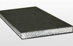 Solid woven conveyor belt (PVC)