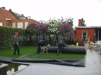 園林綠化人造草坪 LT-QDS30-4A 3