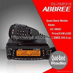 Quad-Band Mobile Radio  AC-9800