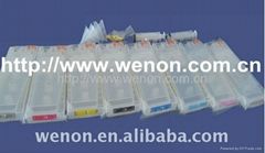 Hotest!!!Empty Refillable Ink Cartridges for Epson 7800 9800 With Chips