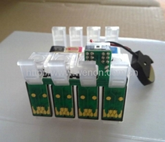 Newest Refillable Cartridge for Epson TX125 with Chip