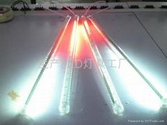 LED白色双面流星雨灯管