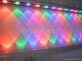 DMX512外控LED洗墻燈七彩色