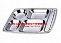 不锈钢快餐盘