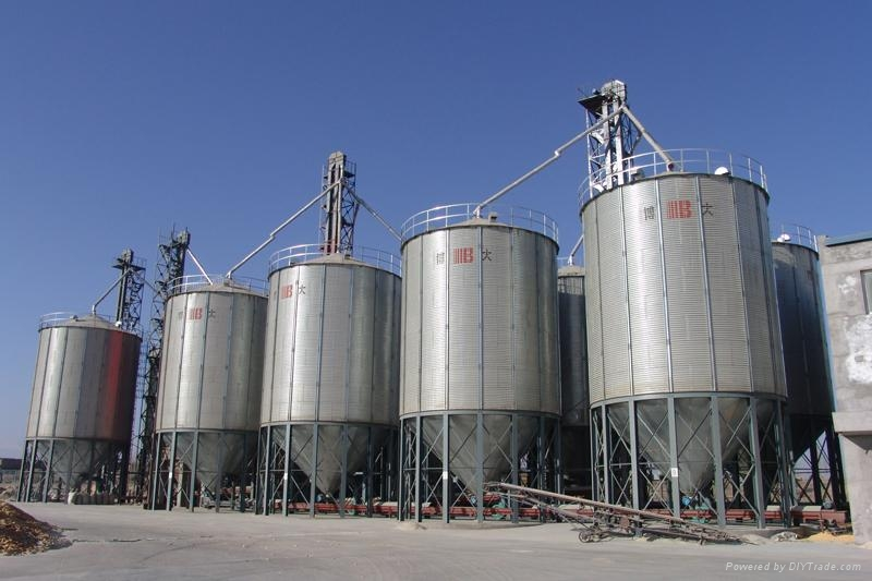 Rice Storage Silo 5 5 10 Tse China Manufacturer