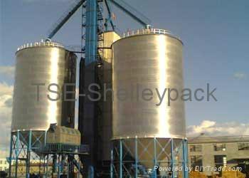 Grain Hopper Bottom Steel Silo 1
