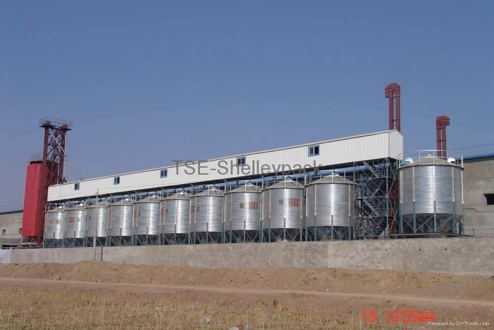Grain Hopper Bottom Steel Silo 2