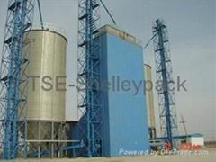 Galvanized Stainless Steel Silo for Grain Storage