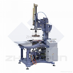 Semi-automatic rigid box machine