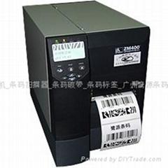 斑马标签条码打印机Zebra zm400 300dpi