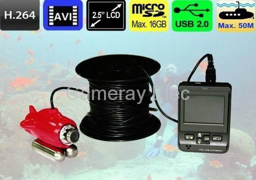 Underwater Cctv Camera Recorder Cm Dwl500ch Cameray