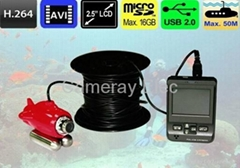 Underwater CCTV Camera Recorder