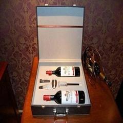 高檔氣壓紅酒酒箱