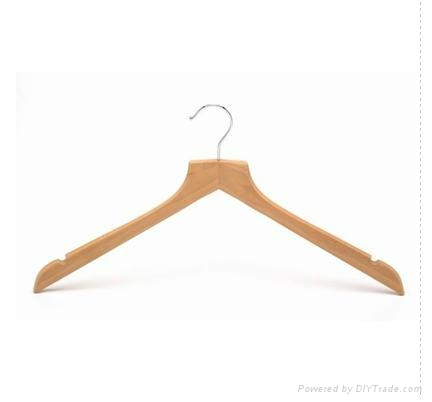 Wooden suit hanger 3