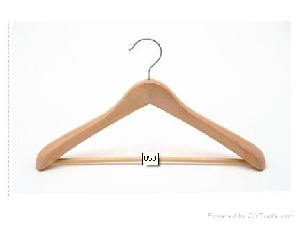 Wooden suit hanger 5