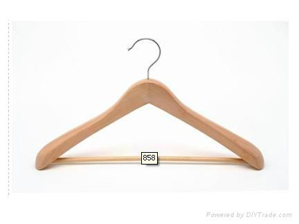 Wooden suit hanger 5